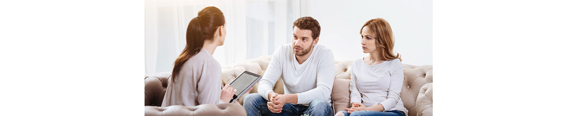 Man and Woman In Couples Therapy